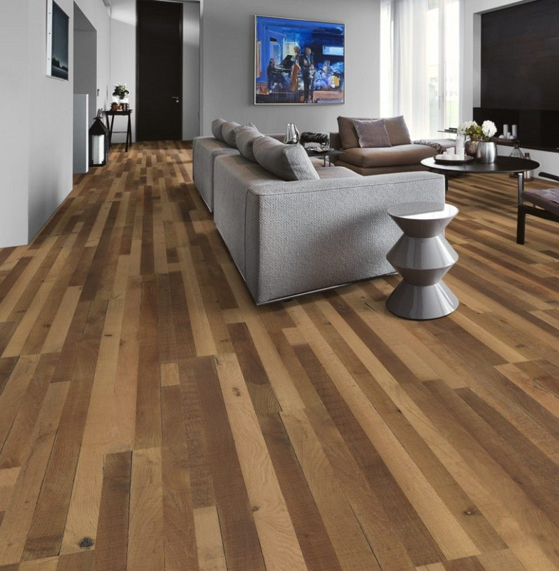 KAHRS Da Capo Oak Reclaimed Indietro Oiled Swedish Engineered Flooring 190mm - CALL FOR PRICE