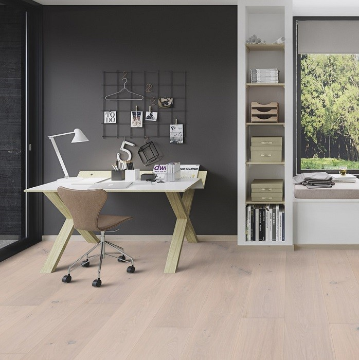 BOEN ENGINEERED WOOD FLOORING NORDIC COLLECTION CHALETINO PEARL OAK RUSTIC OILED 300MM - CALL FOR PRICE