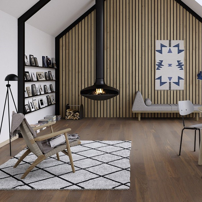 BOEN ENGINEERED WOOD FLOORING CLASSIC COLLECTION SMOKED OAK PRIME LIVE PURE LACQUERED 138MM-CALL FOR PRICE