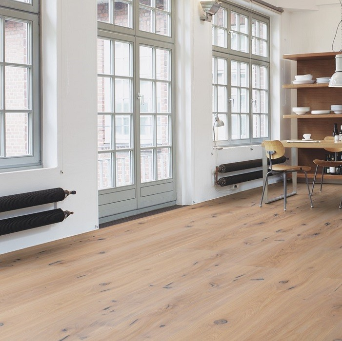 BOEN ENGINEERED WOOD FLOORING RUSTIC COLLECTION CHALETINO VINTAGE WHITE OAK RUSTIC BRUSHED OILED 300MM - CALL FOR PRICE