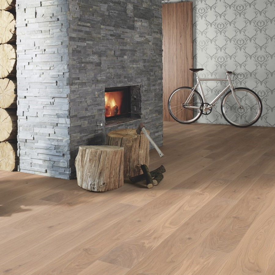 BOEN ENGINEERED WOOD FLOORING NORDIC COLLECTION ANIMOSO OAK WHITE BRUSHED RUSTIC OILED 138MM - CALL FOR PRICE