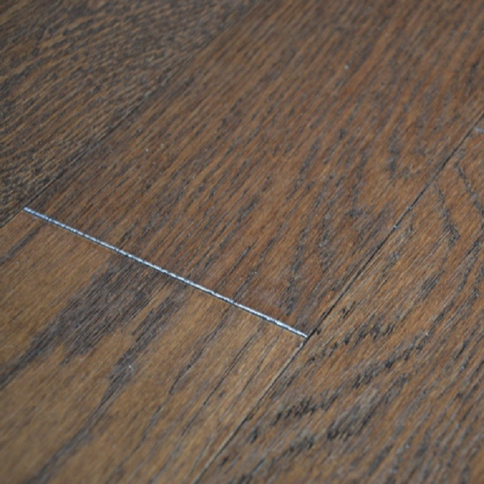 YNDE-125 ENGINEERED WOOD FLOORING MULTIPLY OAK SMOKY BRUSHED MATT LACQUERED 125MM