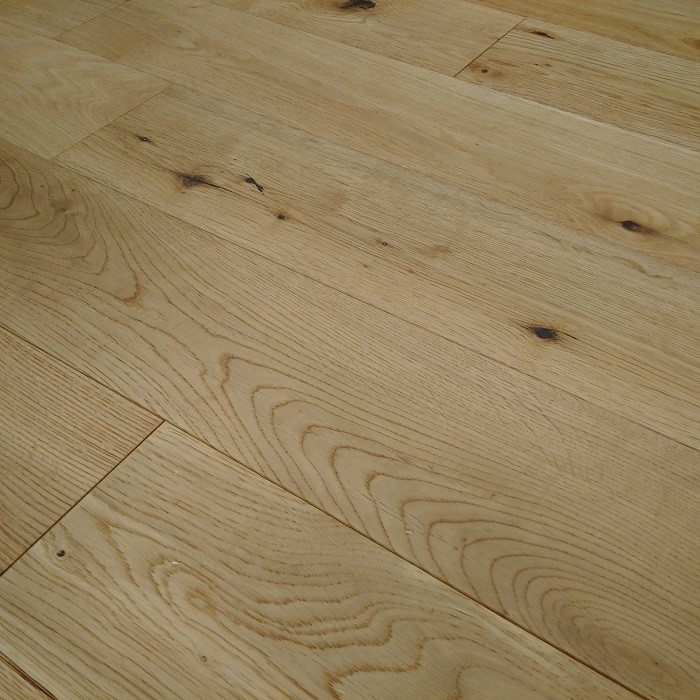 YNDE-125 NATURAL ENGINEERED WOOD BRUSHED OAK LACQUERED FLOORING 125mm
