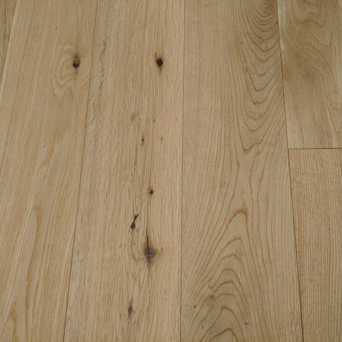 YNDE-125 ENGINEERED WOOD FLOORING MULTIPLY OAK NATURAL BRUSHED MATT LACQUERED 125MM
