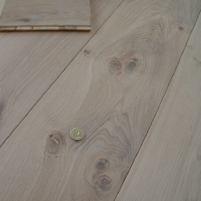YNDE-190 ENGINEERED WOOD FLOORING LONG PLANK UNFINISHED OAK 190x1900mm