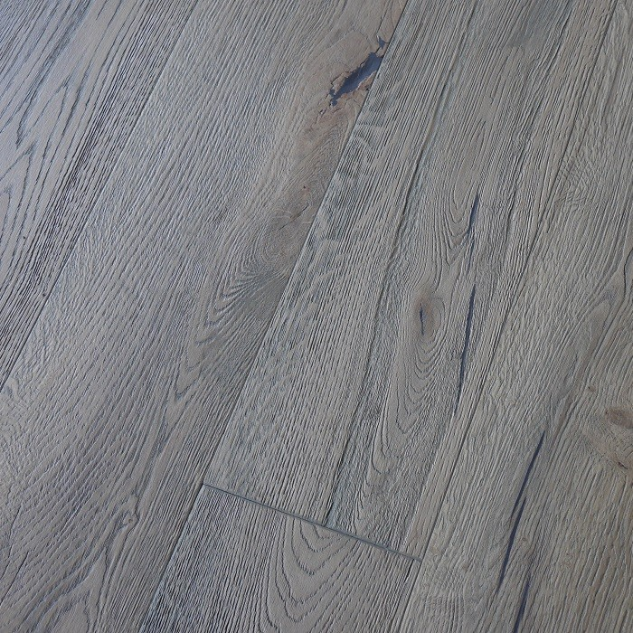 YNDE-ANTIQUE ENGINEERED WOOD FLOORING DISTRESSED BRUSHED VINTAGE OAK GREY OILED ANTIQUE 220x2200mm