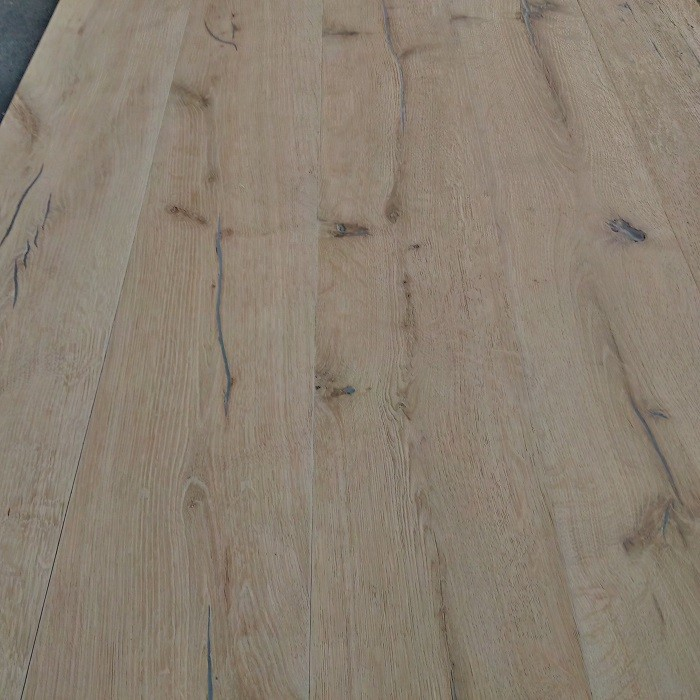YNDE-ANTIQUE ENGINEERED WOOD FLOORING DISTRESSED BRUSHED UNFINISHED ANTIQUE OAK 220x2200mm