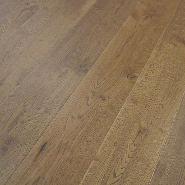YNDE-190 ENGINEERED WOOD FLOORING RUSTIC GOLDEN HANDSCRAPPED OILED OAK 190x1900mm