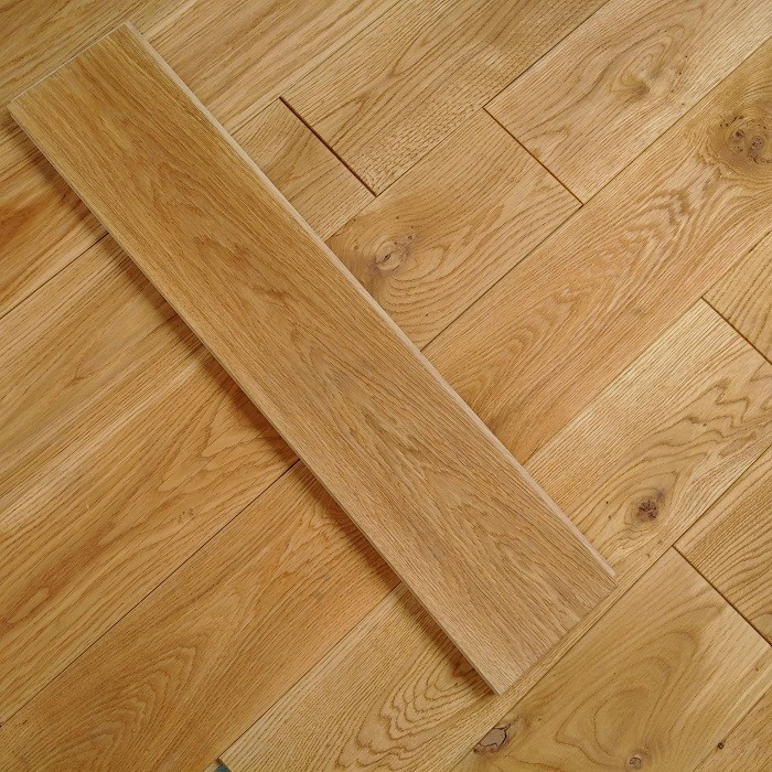 Y2 EUROPEAN  SOLID WOOD FLOORING RUSTIC OAK BRUSHED OILED 140xRANDOM