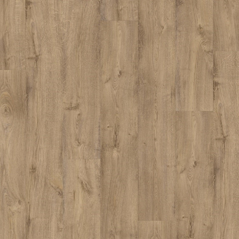 QUICK STEP VINYL WATERPROOF PULSE CLICK COLLECTION PICNIC OAK OCHRE FLOORING 4.5mm