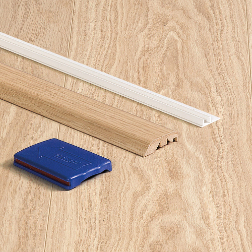 QUICK STEP  LAMINATE  PERSPECTIVE 5 in 1 INCIZO PROFILES: RAMP, T-BAR, SQUARE EDGE, NOSING