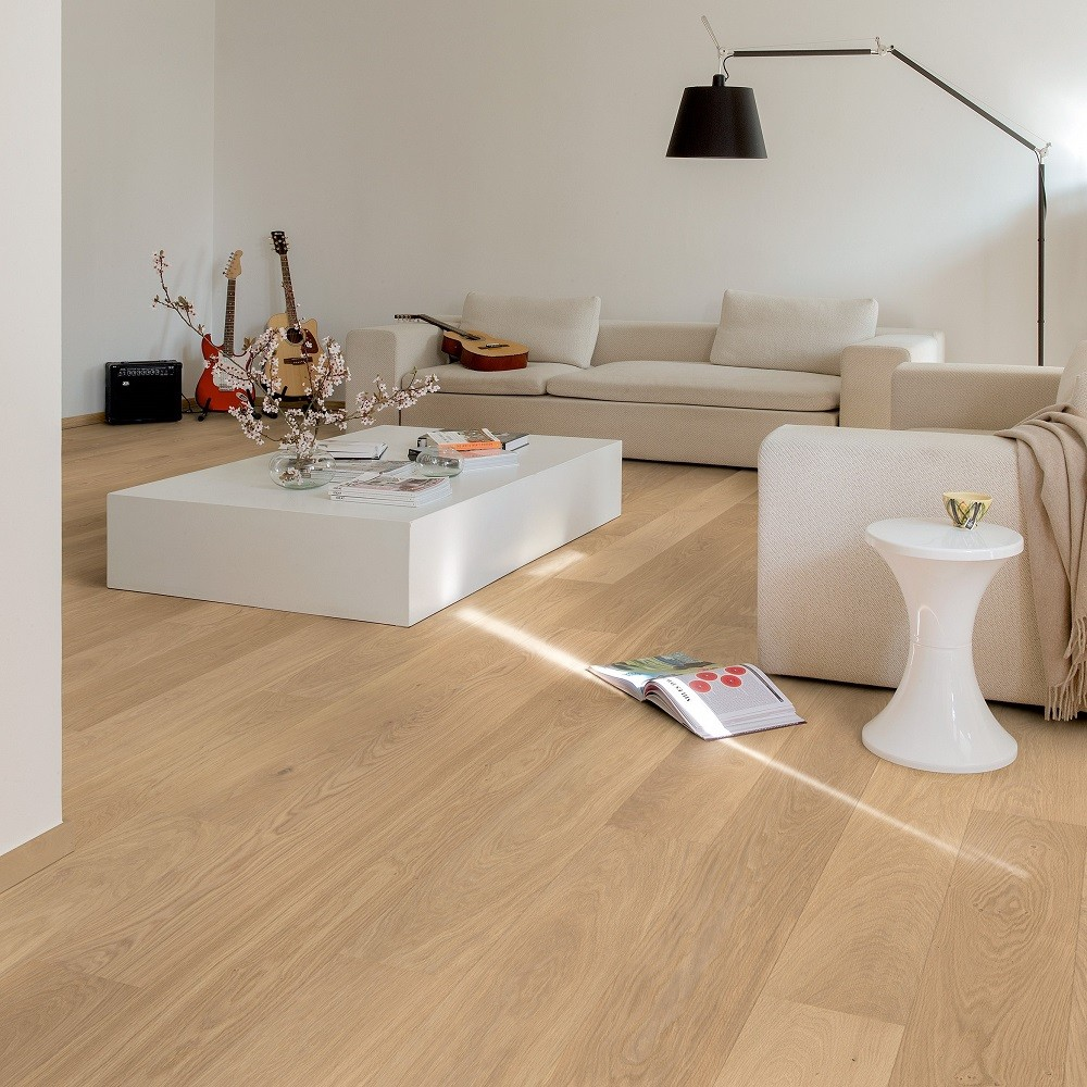 QUICK STEP ENGINEERED WOOD PALAZZO COLLECTION OAK  REFINISHED  EXTRA MATT LACQUERED FLOORING 120x1820mm