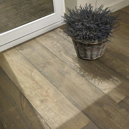 LALEGNO ENGINEERED WOOD FLOORING ANTIQ COLLECTION  VOSNE OAK SMOKED SANDBLASTED LACQUERED 220X2200MM