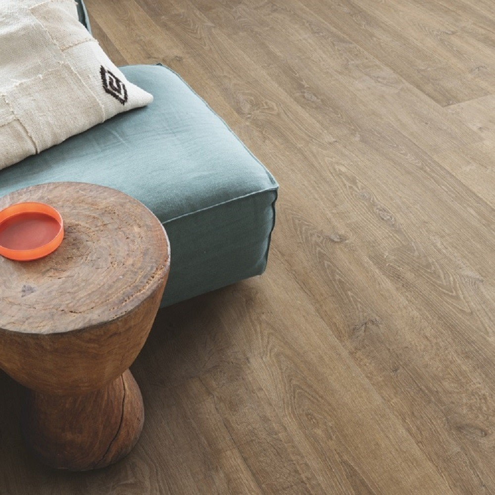 QUICK STEP LAMINATE ELIGNA COLLECTION OAK RIVA BROWN FLOORING 8mm