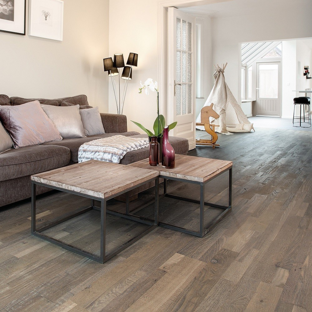 QUICK STEP ENGINEERED WOOD VARIANO COLLECTION  OAK ROYAL GREY OILED  FLOORING  190x2200mm
