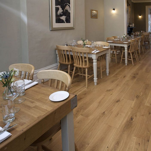 ABL EAST EUROPEAN ENGINEERED WOOD FLOORING RUSTIC OILED FSC OAK 200X2400MM
