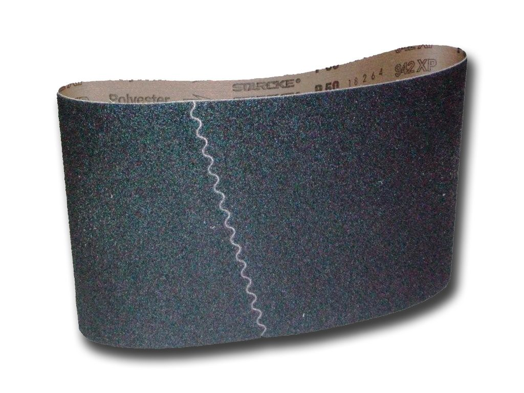 5 IN 1 BOX OF  SILICON CARBIDE 8 INCH SANDING BELTS FOR LAGLER & BONA 200 x 750MM