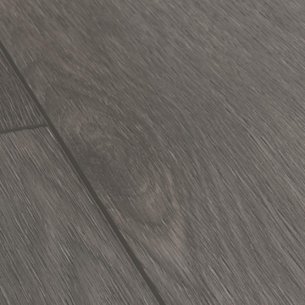 QUICK STEP VINYL WATERPROOF BALANCE CLICK COLLECTION SILK OAK DARK GREY FLOORING 45mm