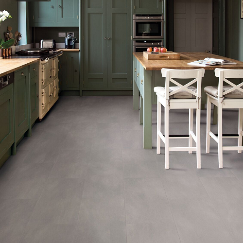 NATURAL SOLUTIONS SIRONA TILE CLICK COLLECTION LVT FLOORING FLINT STONE-40940 4.5MM