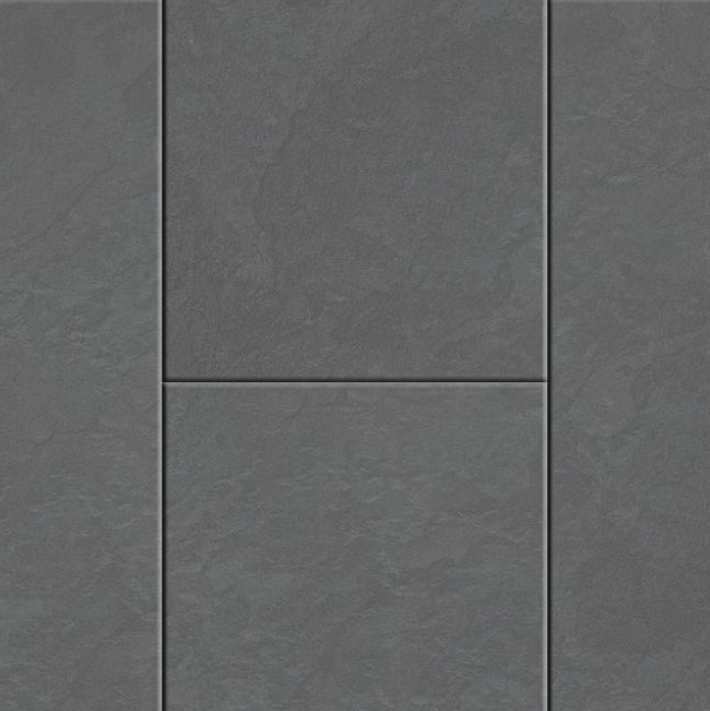 NATURAL SOLUTIONS SIRONA TILE CLICK COLLECTION LVT FLOORING OCEAN SLATE-36975 4.5MM