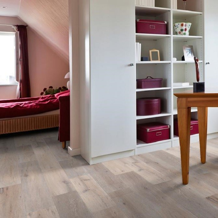 MAXI ENGINEERED WOOD FLOORING  OAK SMOKED BRUSHED RUSTIC NATURAL OILED
