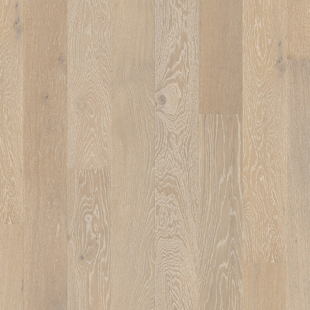 QUICK STEP ENGINEERED WOOD COMPACT COLLECTION OAK  SNOWFLAKE WHITE EXTRA MATT LACQUERED FLOORING 145x1820mm
