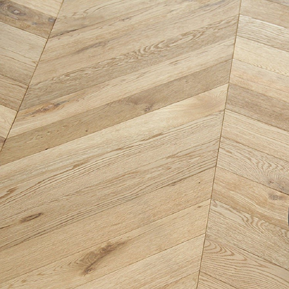 Maxi Chevron Collection Oak UV Oiled  Engineered Wood Flooring  90x600mm