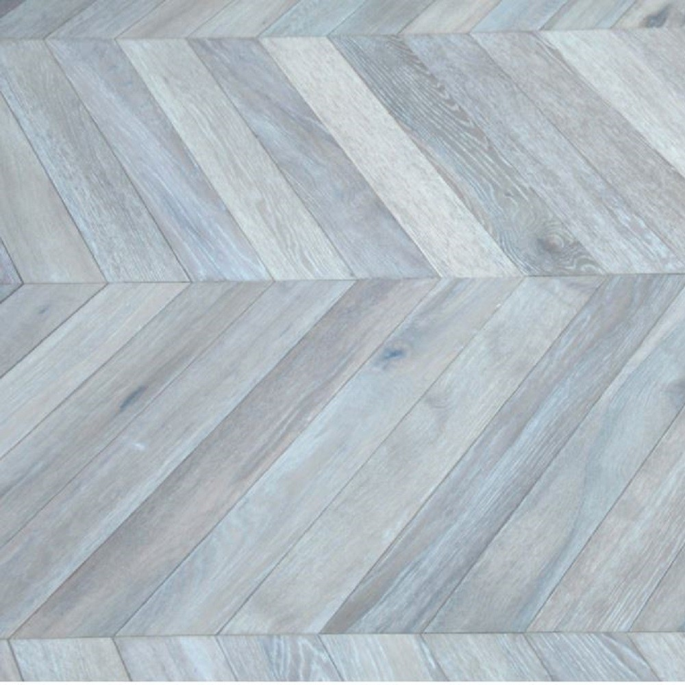 Maxi Chevron Collection Oak  Smoked  White Oiled Engineered Wood Flooring  90x600mm