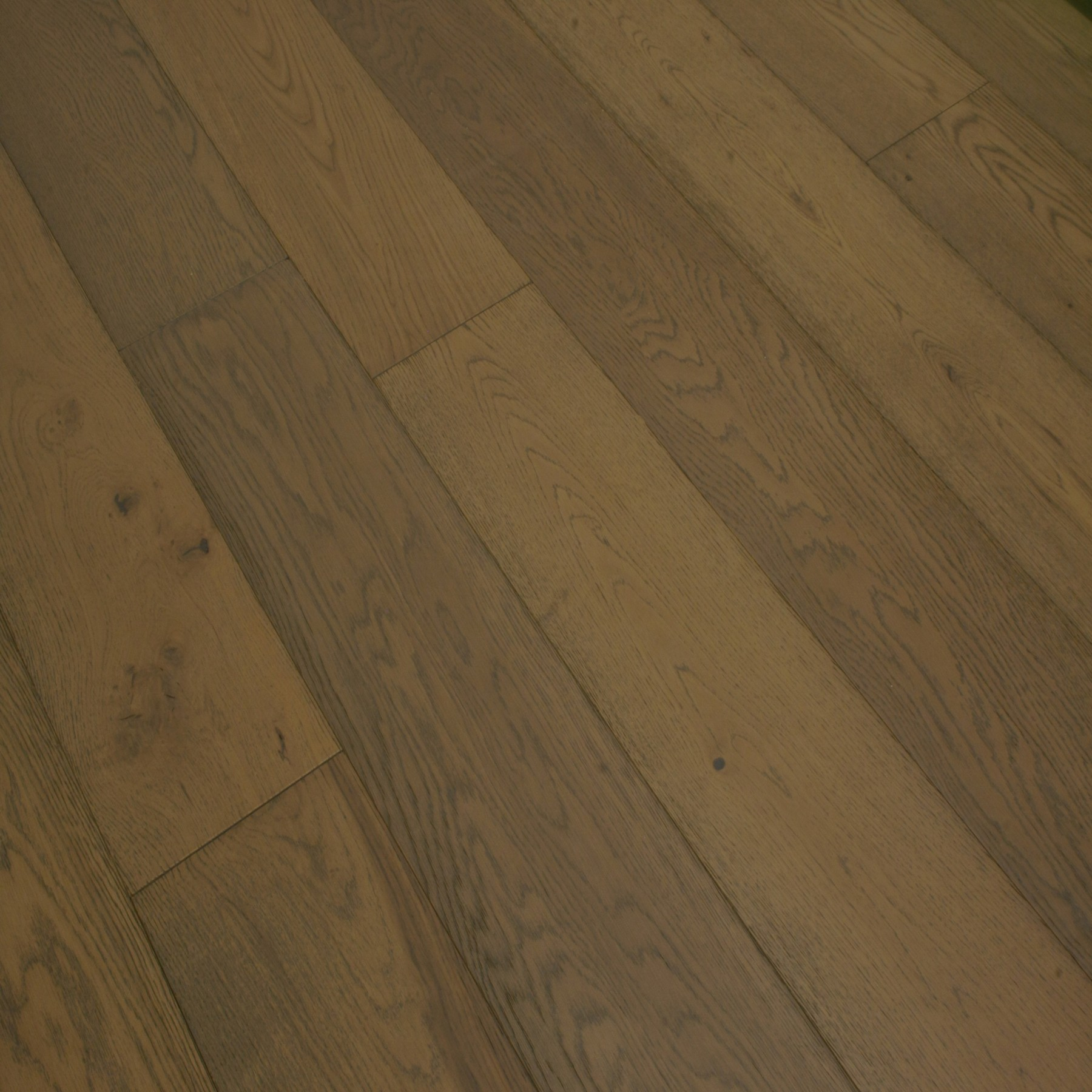 GILVA FEOPIA Oak Flooring Smoked Brushed & Matt Lacquered