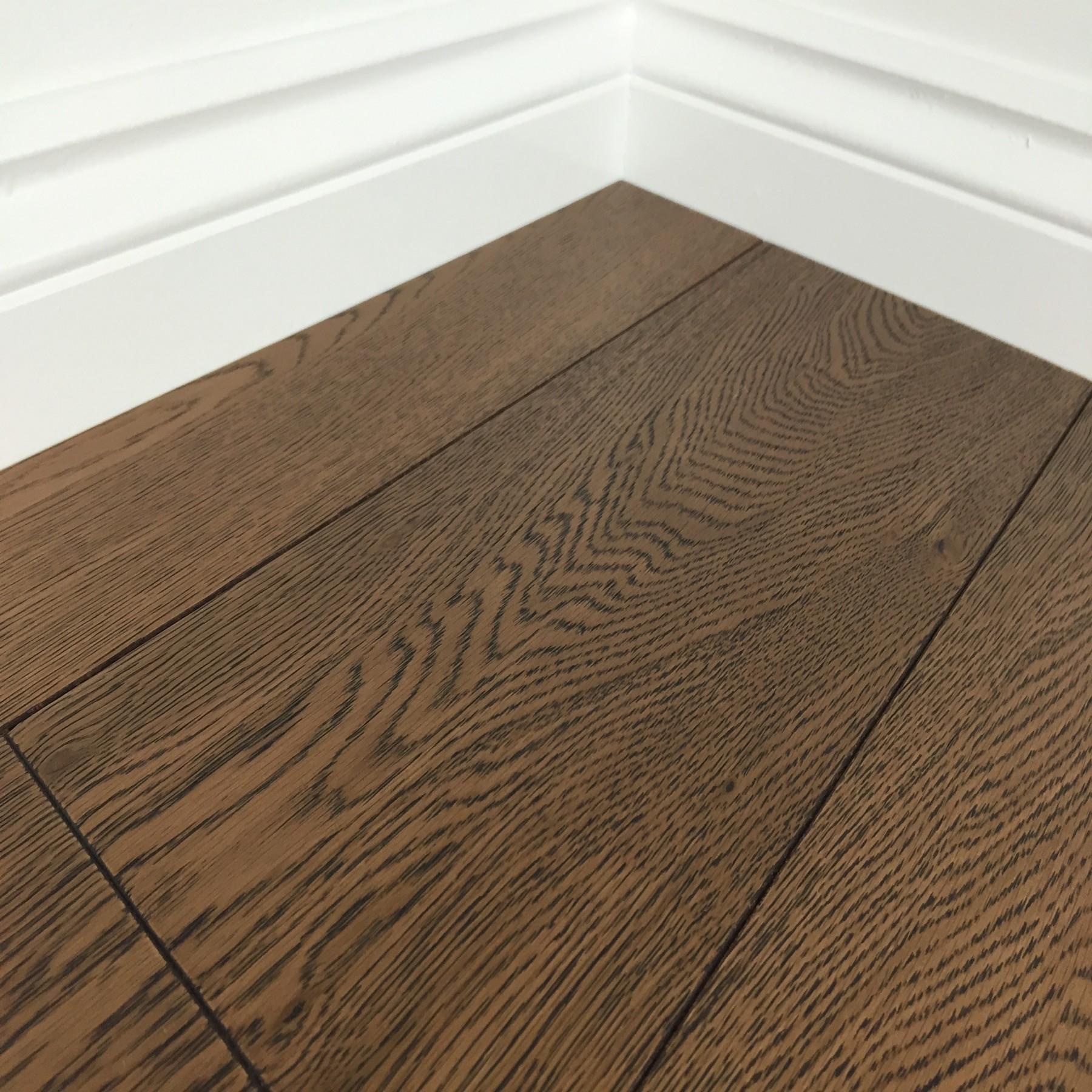 GILVA DENVER Oak Flooring Cocoa Brushed & Oiled