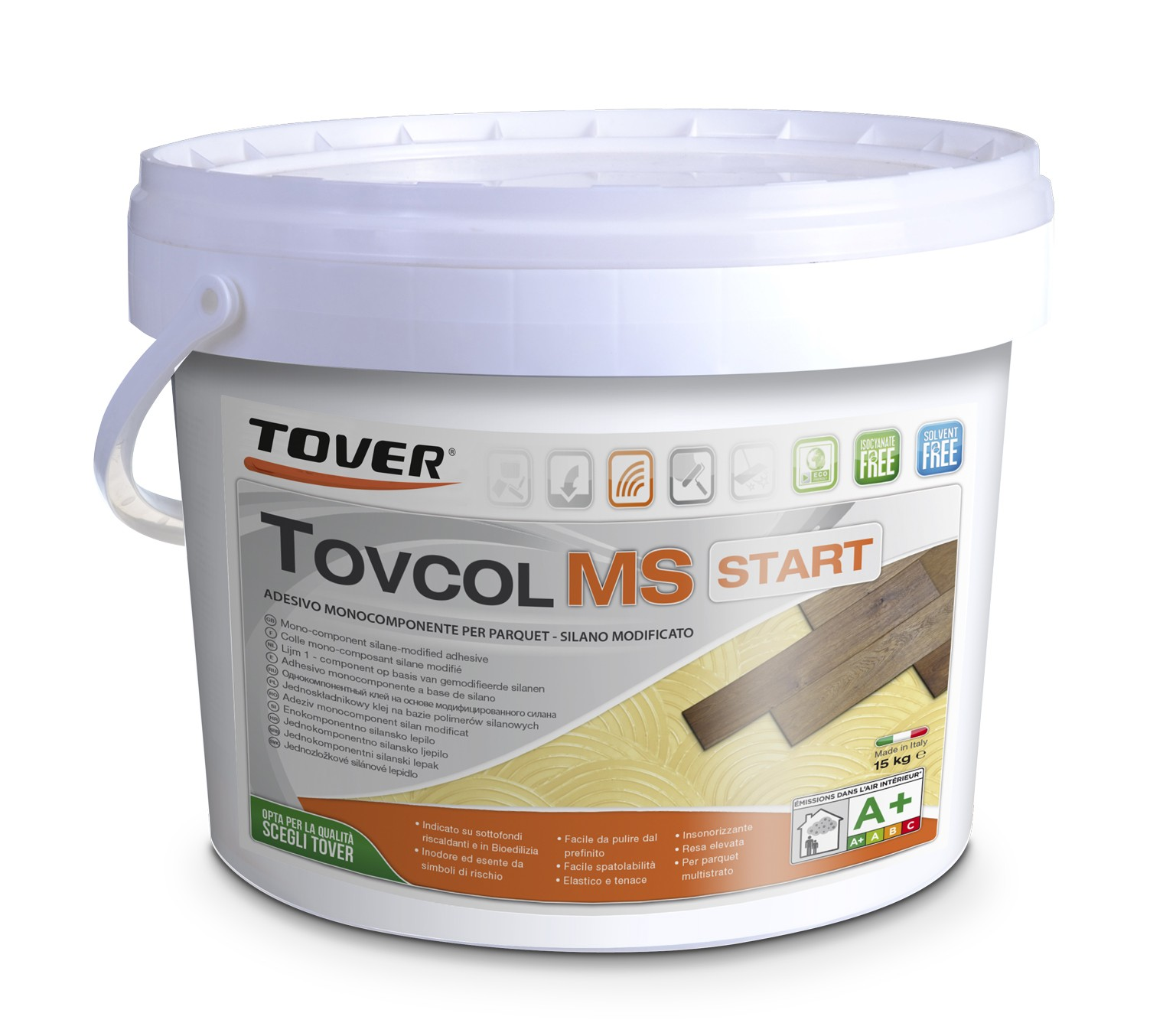Tover  Mono-Component Silane Modified Adhesive Tovcol MS Start Polymer 15kg