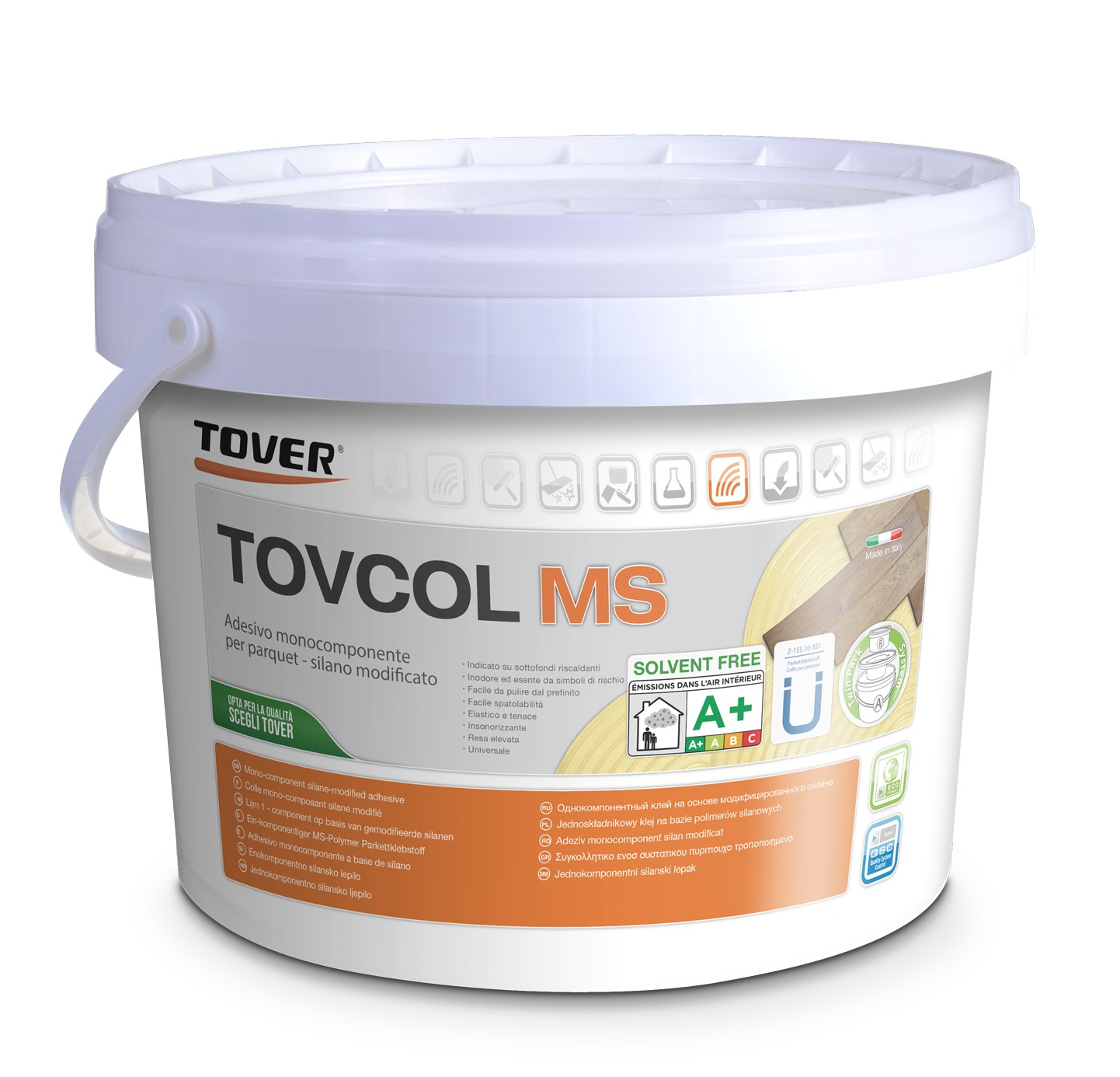 Tover  Mono-Component Silane Modified Adhesive Tovcol MS Polymer,15kg