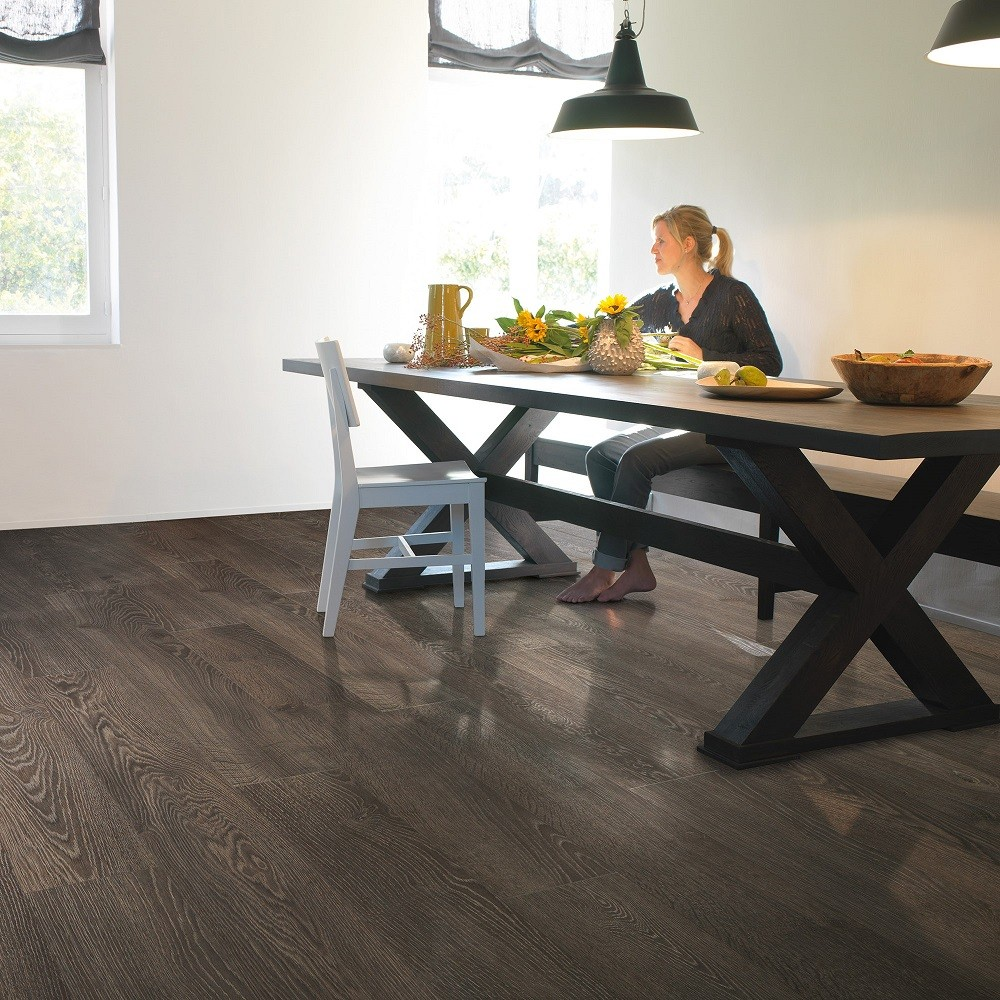 QUICK STEP LAMINATE  ELITE COLLECTION OAK GREY OLD  FLOORING 8mm