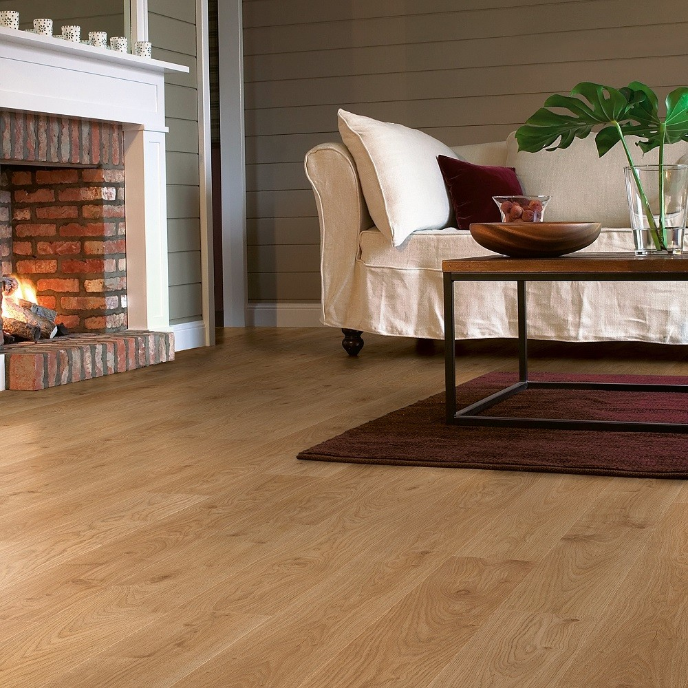 QUICK STEP LAMINATE ELITE COLLECTION OAK  LIGHT WHITE   FLOORING 8mm