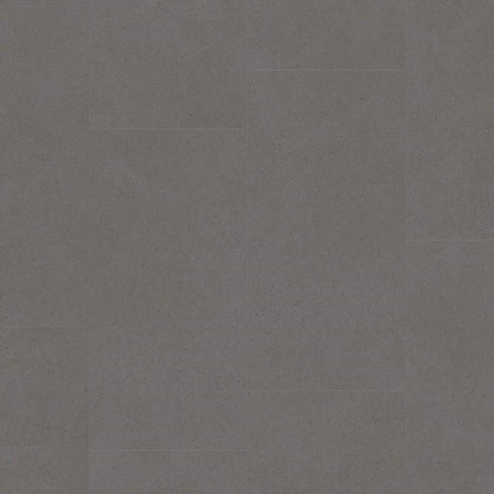 QUICK STEP VINYL WATERPROOF AMBIENT CLICK COLLECTION VIBRANT MEDIUM GREY FLOORING 4.5mm