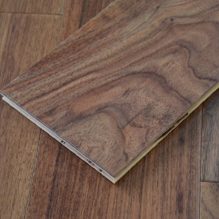 YNDE-150 ENGINEERED WOOD FLOORING AMERICAN BLACK WALNUT UV LACQUERED 150MM
