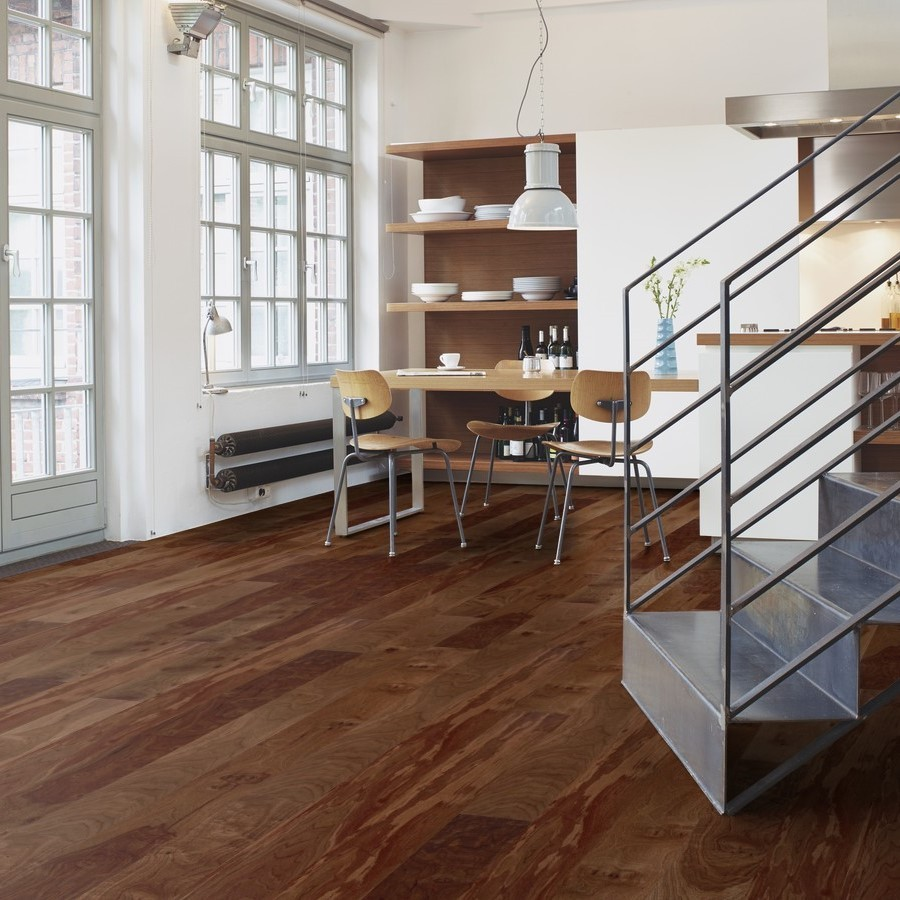 BOEN ENGINEERED WOOD FLOORING URBAN COLLECTION ANIMOSO WALNUT AMERICAN PRIME MATT LACQUERED 138MM - CALL FOR PRICE