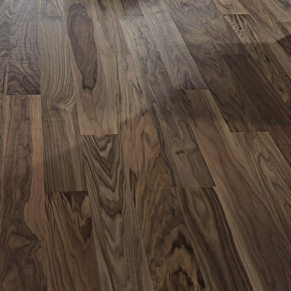 KAHRS Living Collection Walnut  Cocoa Satin  Lacquer  Swedish Engineered  Flooring 118mm - CALL FOR PRICE