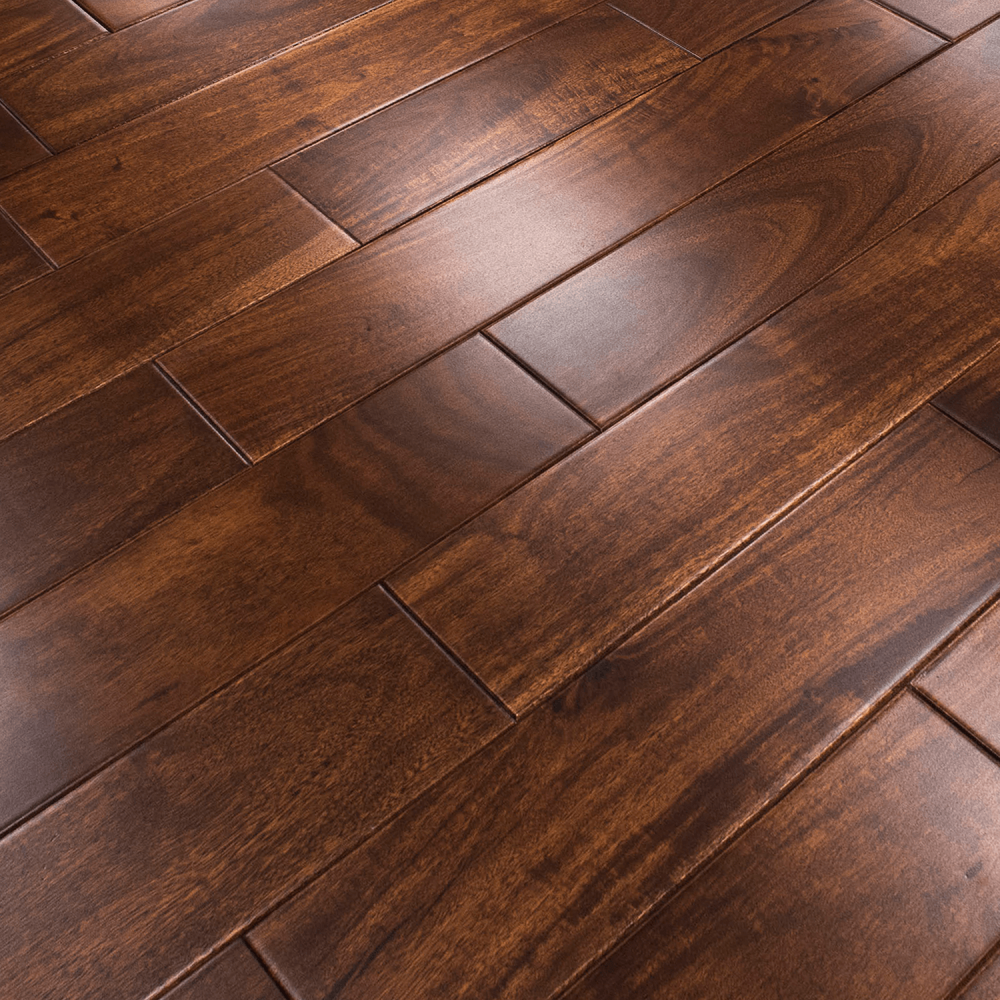 YNDE-150 ENGINEERED WOOD FLOORING WALNUT COLOUR STAINED LACQUERED 150xRANDOM