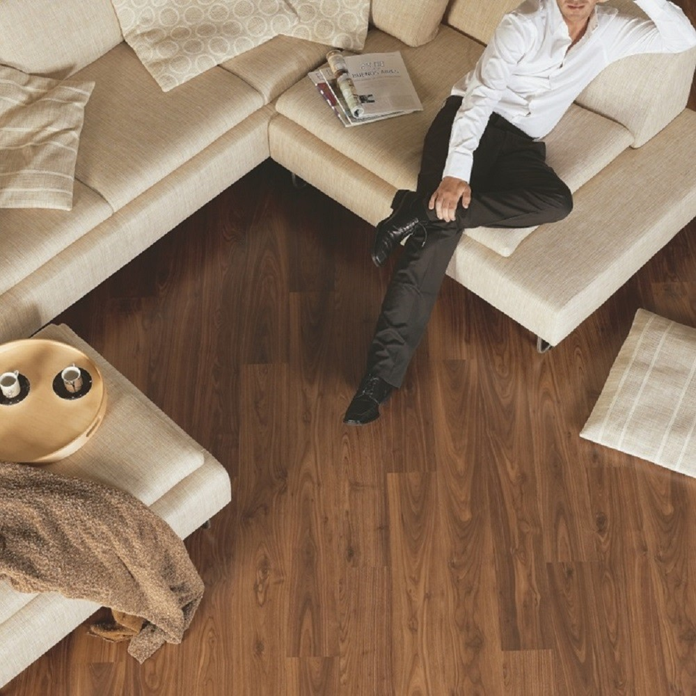 QUICK STEP LAMINATE ELIGNA COLLECTION WALNUT OILED FLOORING 8mm