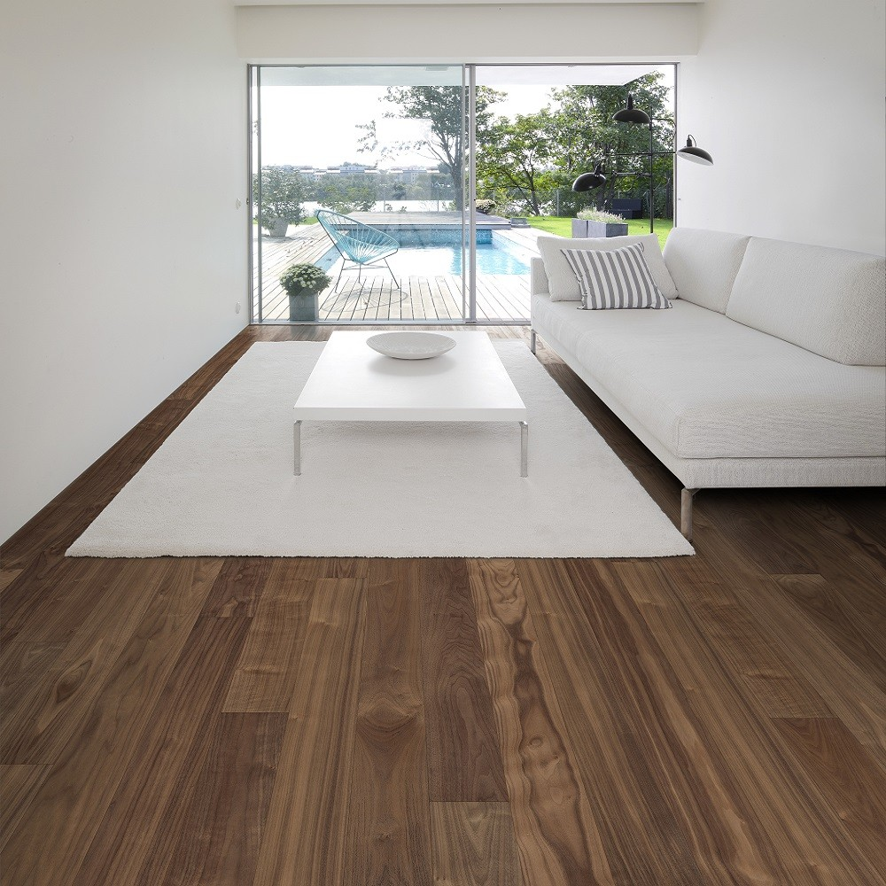 KAHRS Habitat  Collection Walnut  Statue Matt Lacquer  Swedish Engineered  Flooring 150mm - CALL FOR PRICE