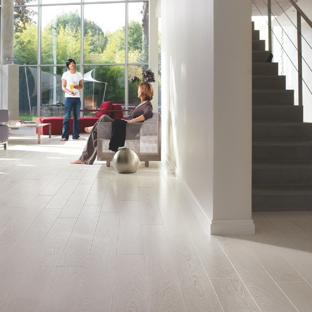 QUICK STEP LAMINATE PERSPECTIVE COLLECTION WENGÉ PASSIONATA FLOORING 9.5mm