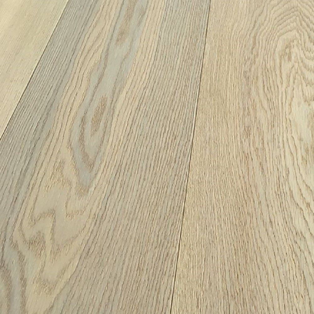 Y2 ENGINEERED WOOD BUCKINGHAM COLLECTION  WHITE BRUSHED OAK LACQUERED 127x1200mm