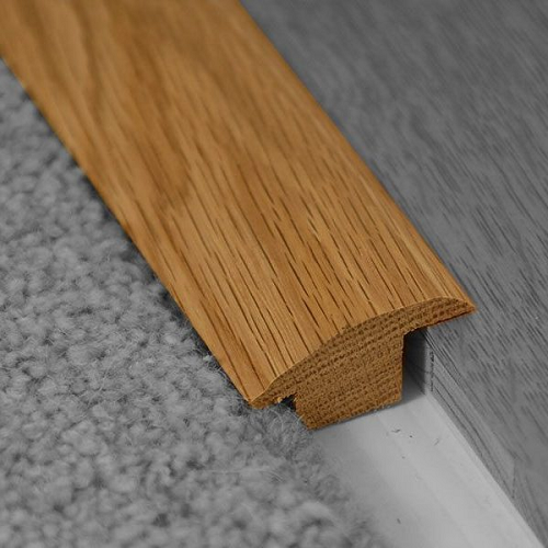 REAL SOLID WOOD PROFILE WOOD-TO-CARPET