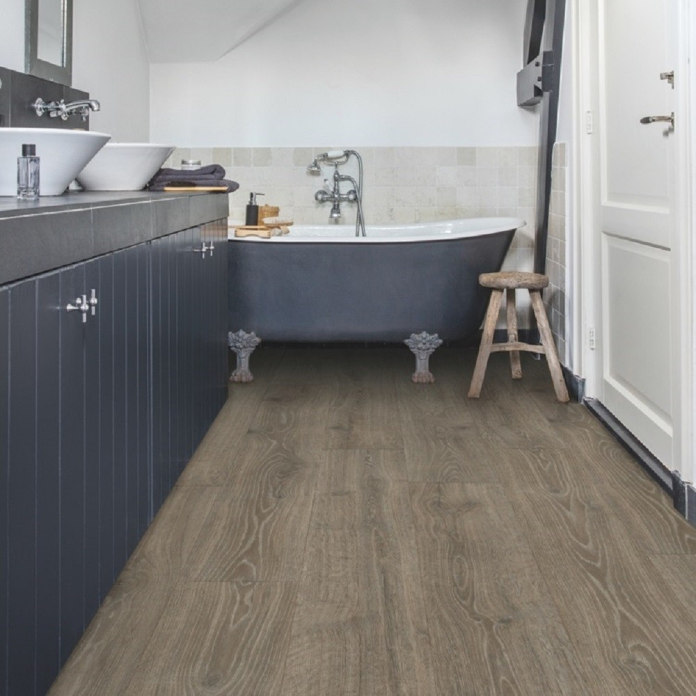 QUICK STEP LAMINATE MAJESTIC COLLECTION OAK WOODLAND BROWN  FLOORING 9.5mm