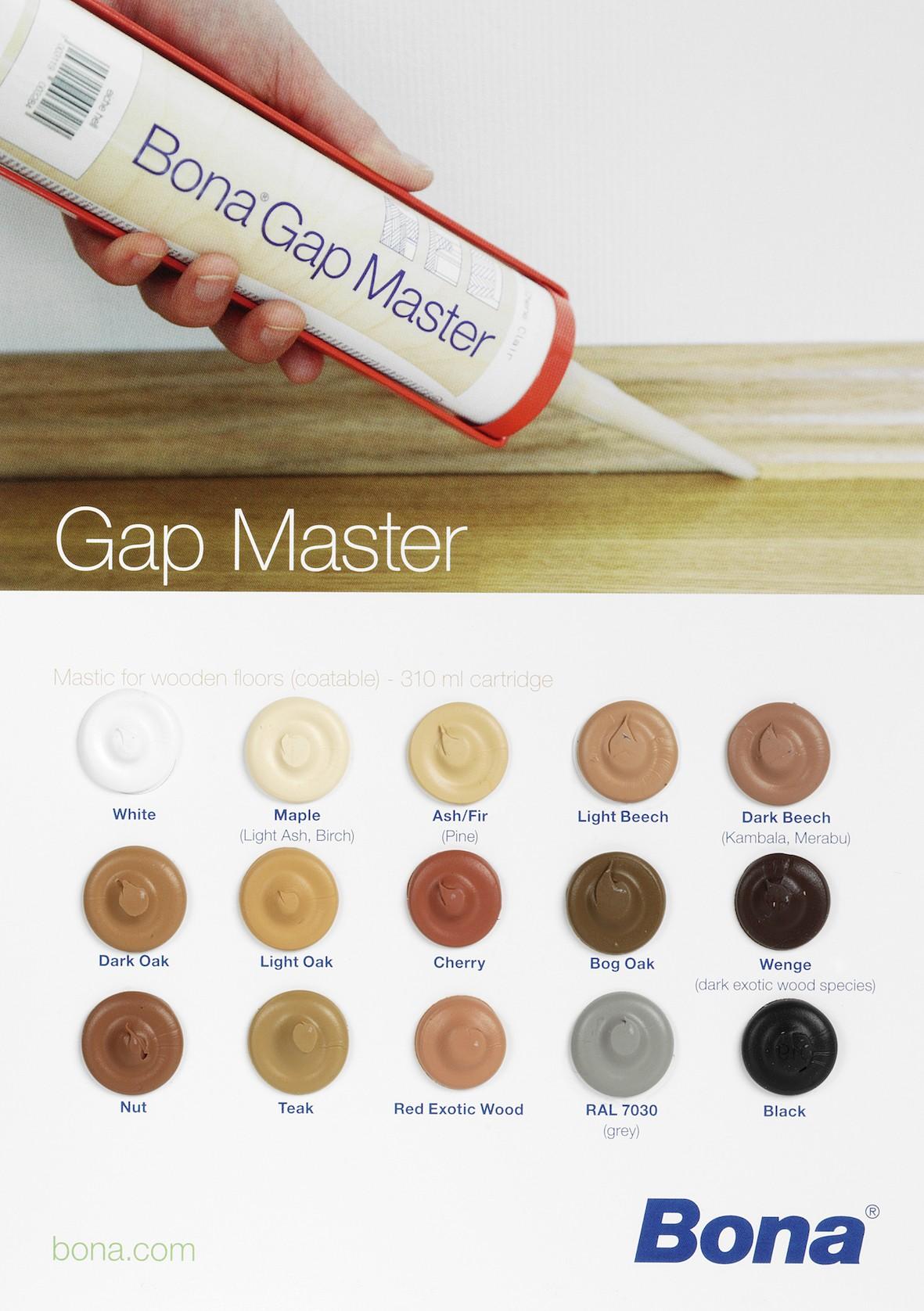 Bona Gap Master Filler/Sealant for Flooring