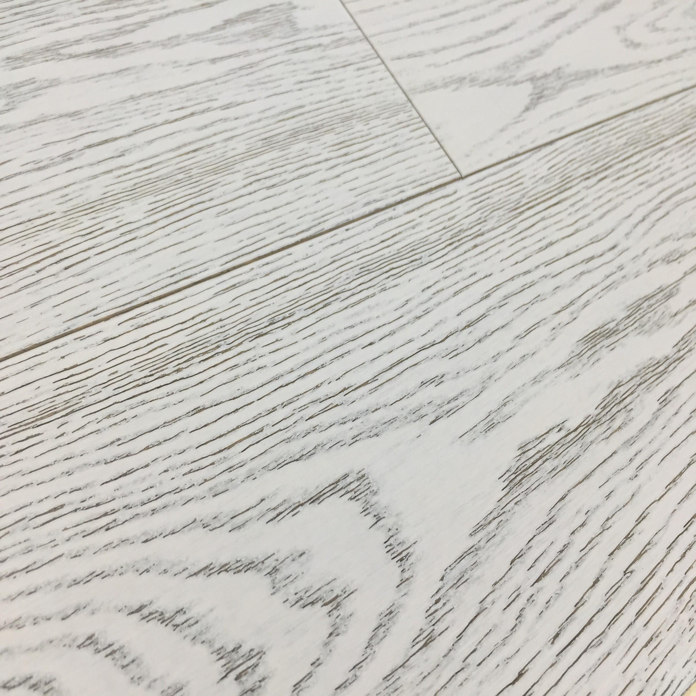 Grisea Oak Flooring Lightly Brushed Matt UV Lacquered, White
