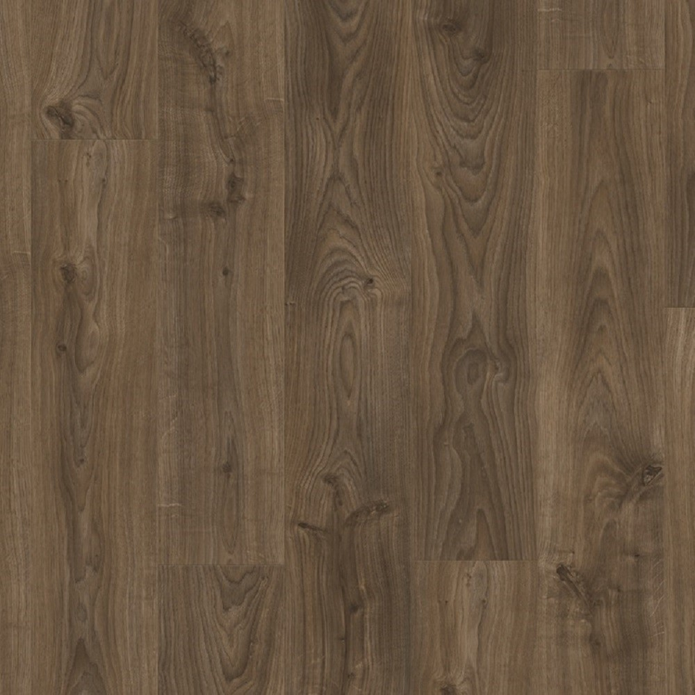 QUICK STEP VINYL WATERPROOF BALANCE CLICK COLLECTION COTTAGE OAK DARK BROWN