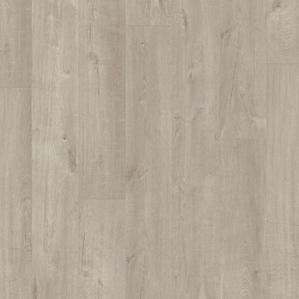QUICK STEP VINYL WATERPROOF PULSE CLICK COLLECTION COTTON OAK WARM GREY