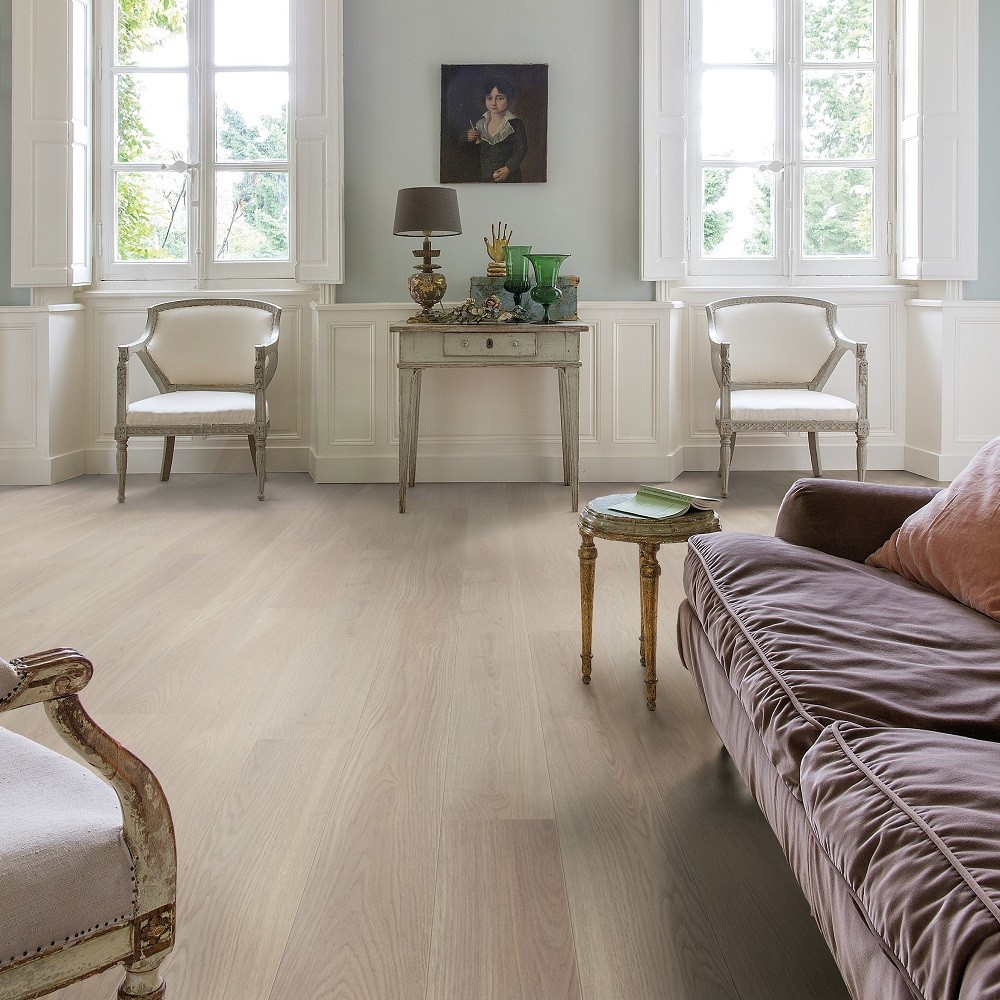 QUICK STEP ENGINEERED WOOD PALAZZO COLLECTION OAK  FROSTED